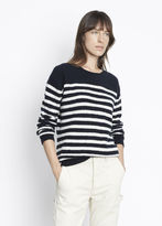 Vince Engineered Stripe Crew