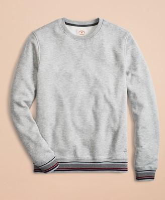 Brooks Brothers Pique Fleece Crewneck Sweatshirt