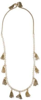 Kendra Scott Mother of Pearl Vanina Long Necklace