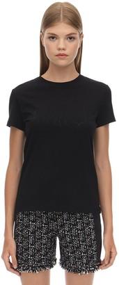 Karl Lagerfeld Paris X Olivia Profile Cotton T-shirt