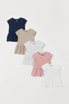 H&M 5-Pack Jersey Dresses