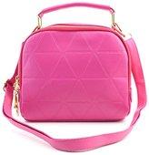 Jocestyle Women Ladies Fashion PU Leather Handbag Crossbody Bag Single Shoulder Bag