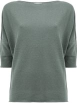 Lamberto Losani cashmere three-quarter sleeve jumper - women - Cashmere - L