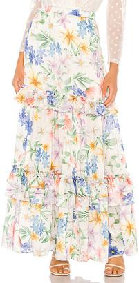 IORANE Garden Maxi Skirt