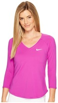 Nike Court Pure Tennis Top Women's Long Sleeve Pullover
