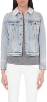 Levi's Boyfriend Sherpa Trucker denim jacket