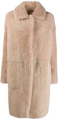 Manzoni 24 Reversible Shearling Coat