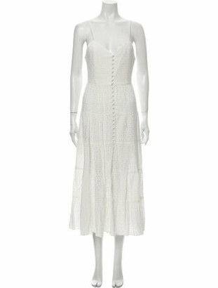 Alice + Olivia V-Neck Long Dress w/ Tags