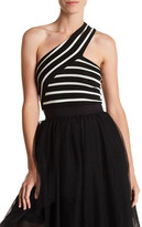 Bailey 44 Striped One Shoulder Tank
