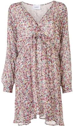 Dondup Floral Shift Mini Dress