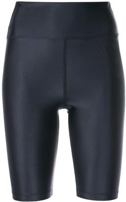 Filippa K FILIPPA-K Soft Sport gloss-effect cycling shorts