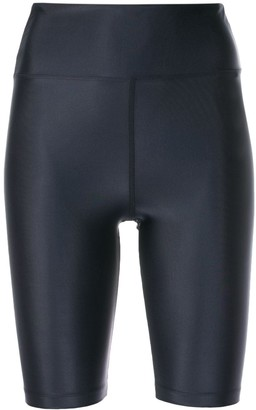 Filippa K Soft Sport Gloss-Effect Cycling Shorts