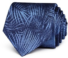 John Varvatos Palm-Leaf Classic Silk Tie