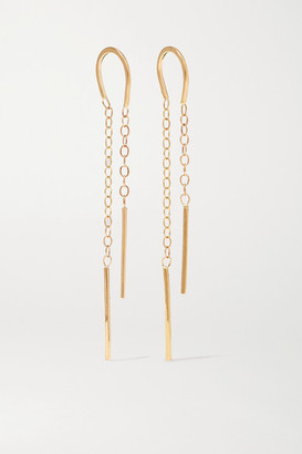 Melissa Joy Manning 14-karat Gold Chain Earrings