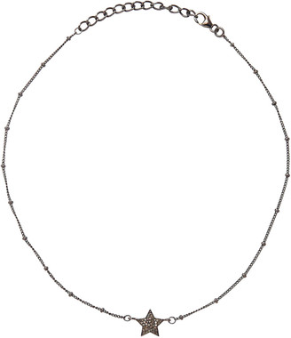 Adornia Fine Silver 0.25 Ct. Tw. Diamond Choker Necklace