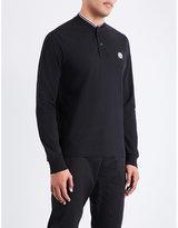 Stone Island Henley Stretch-cotton Polo Shirt
