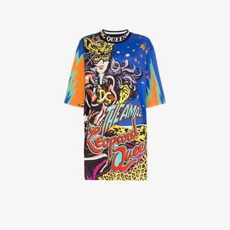 Dolce & Gabbana the amazing leopard queen cartoon T-shirt