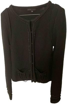 Maje Black Cotton Knitwear