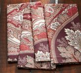 Pottery Barn Anton Paisley Napkin, Set of 4 - Red