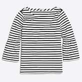 J.Crew Factory Striped bell-sleeve T-shirt