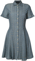 Yigal Azrouel pleated shirt dress - women - Cotton - 10