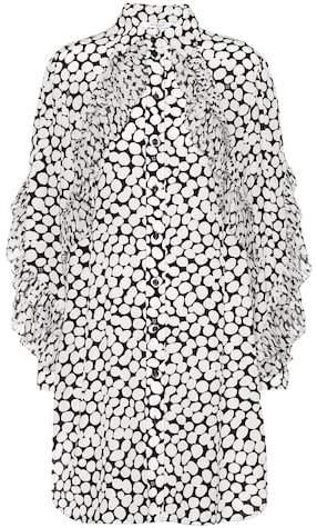 Givenchy Printed silk crêpe dress