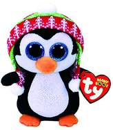 Claire's Girl's TY Beanie Boo Penelope the Penguin Plush Toy in /White