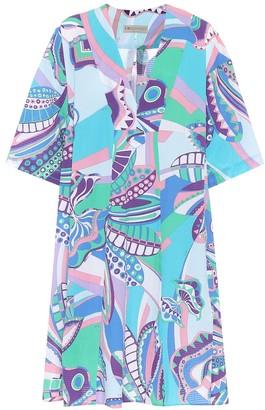Emilio Pucci Beach Printed cotton dress