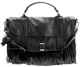 Proenza Schouler PS1 Medium Fringe leather tote
