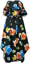 MSGM floral dress - women - Cotton - 40