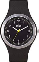 Braun Men's BN0111BKBKG Sport Analog Display Quartz Watch