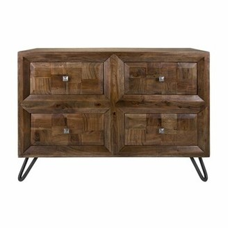 Foundry Select Aslan Hairpin Legs 4 Drawer Accent Chest Foundry Select