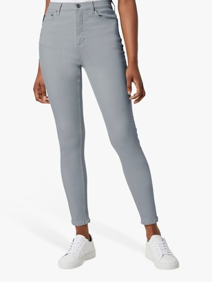 French Connection Rebound High Waisted Skinny Jeans, Salt Water