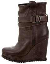 Brunello Cucinelli Wedge Ankle Boots