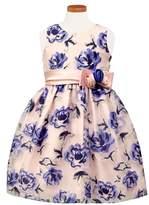 Sorbet Sleeveless Floral Dress