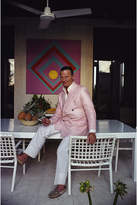 "Jonathan Adler Slim Aarons ""David Nightingale Hicks"" Photograph"