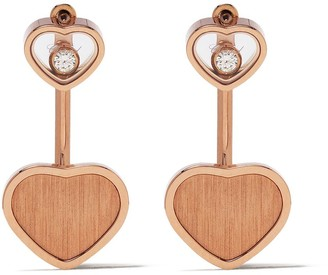 Chopard x 007 18kt rose gold Happy Hearts