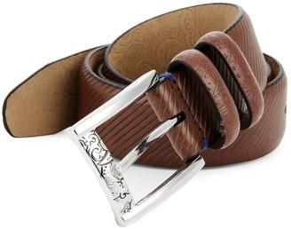 Robert Graham Martin Leather Belt