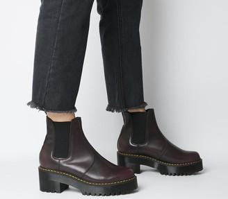 Dr. Martens Rometty Chelsea Boots Burgundy