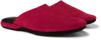 Charvet Suede Slippers
