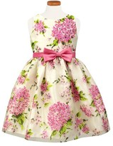 Sorbet Toddler Girl's Floral Burnout Party Dress