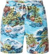Polo Ralph Lauren printed swim trunk
