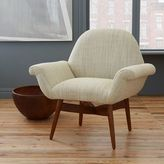 west elm Orly Dhurrie-Upholstered Chair