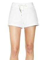 Maison Peonia French Terry Cotton Shorts