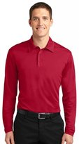 Port Authority Men's Silk Touch Performance Long Sleeve Polo__