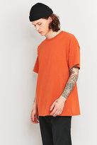 Uo Orange Oversized Skate T-shirt