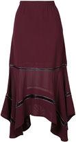 Derek Lam handkerchief hem skirt - women - Silk - 36