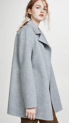 Theory Overlay DF Coat