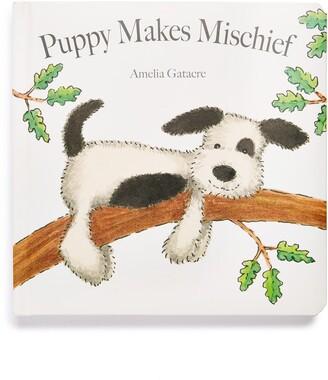 Jellycat 'Puppy Makes Mischief' Board Book