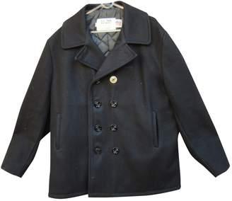 Schott Navy Wool Coats